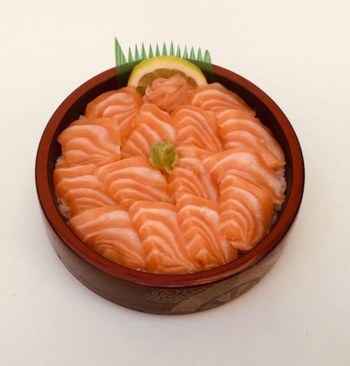 Menu Chirashi Saumon