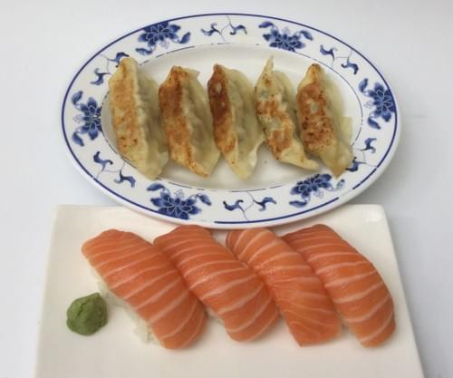 Menu R3 - Raviolis et sushi