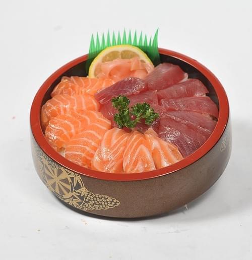 Menu Chirashi Thon et saumon