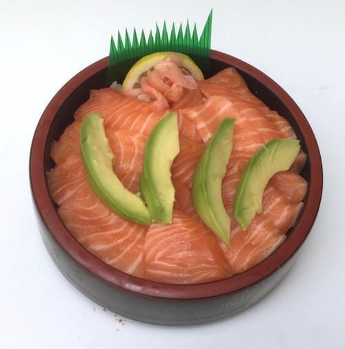 Menu Chirashi Avocat et saumon
