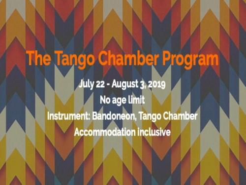 Tuition fee of The Tango Chamber Program