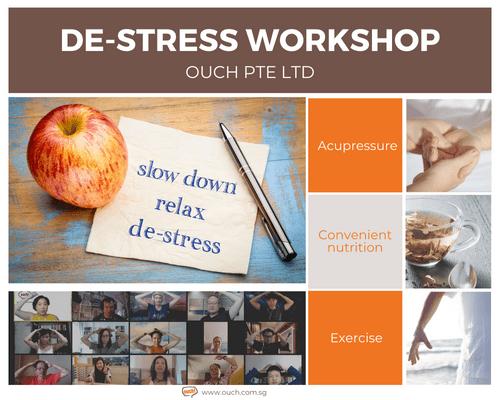 Ouch! De-stress Workshop