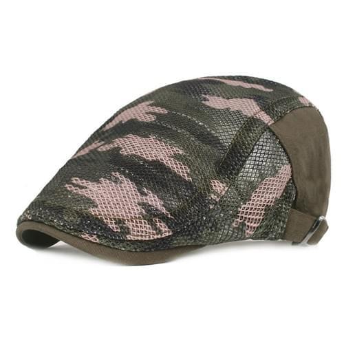 Beret Cap- Camo Green