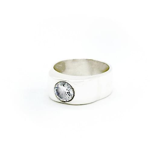 Cirkónia gyűrű  (Cikkszám: 41742)