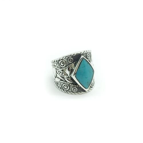 Antikolt, mintázott gyűrű (Cikkszám: 41044)