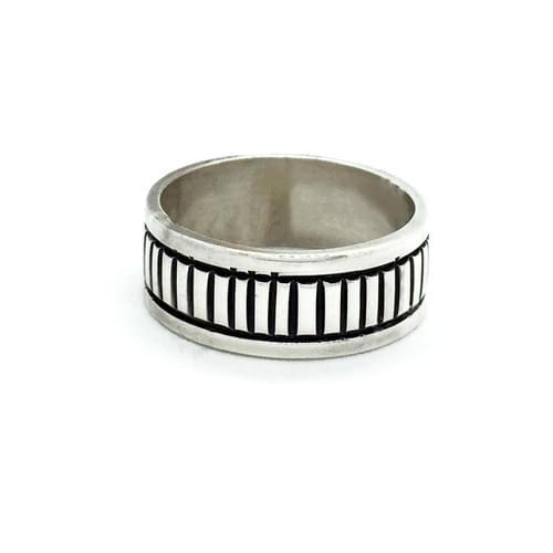 Forgatható sínes gyűrű, vésett