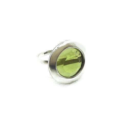 Peridot köves gyűrű   (Cikkszám: 33975)