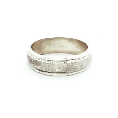 Matt, sima gyűrű