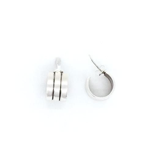 Stekkeres, félkarika fülbevaló
