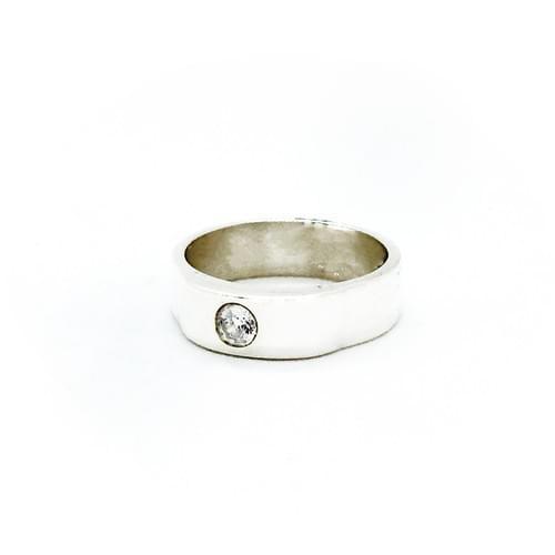 Cirkónia gyűrű
