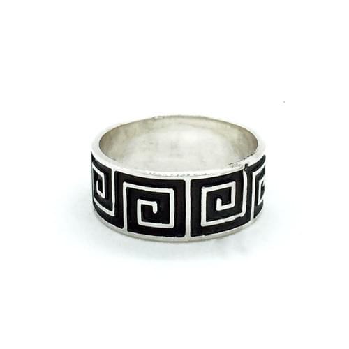 Antikolt, görög mintás gyűrű