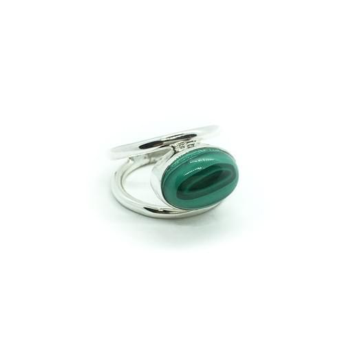 Malachit gyűrű   (Cikkszám: 41068)