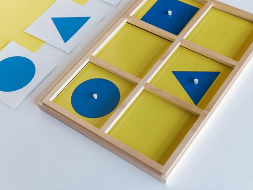 Pédagogie Montessori - Géométrie (19/04 - 23/04)