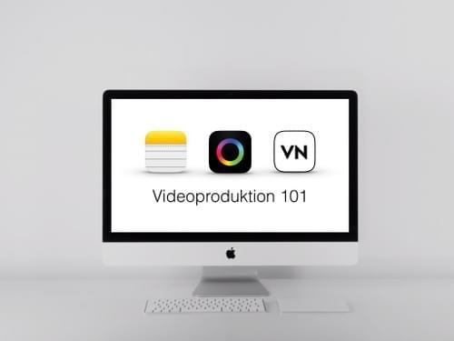 Videoproduktion mit Smartphones 101 (Monatsabo)