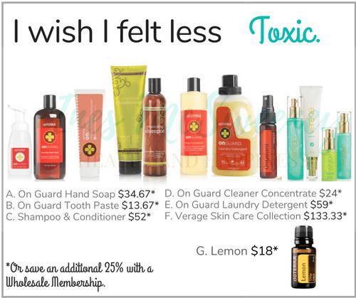 I wish I felt less Toxic