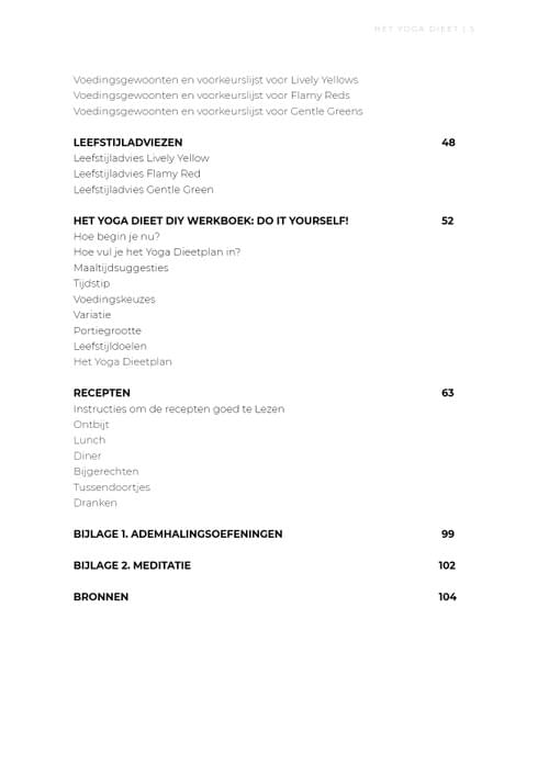 Het Yoga Dieetboek Paperback (softcover)