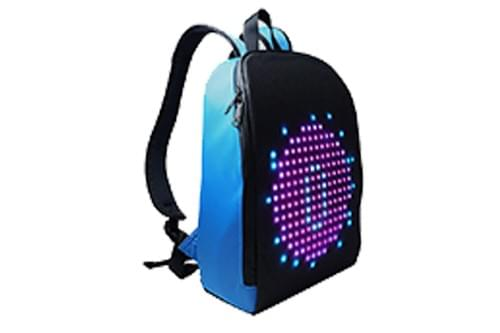 S16-Shine LED Backbag Pixel:16*16  Size:29*14*37cm (Free Shipping)