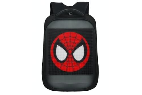 B64-Spiderman Backpack Pixel:64*64  Size:32*15*43cm (Free Shipping)