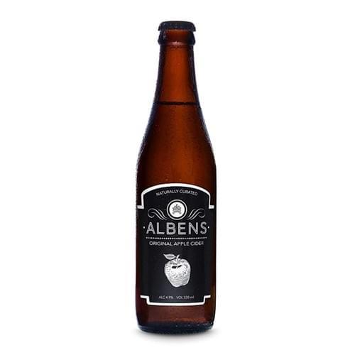 Albens Original Apple Cider (Carton of 24)