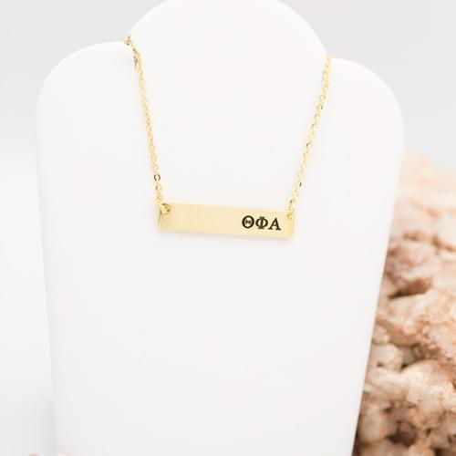 TFA Bar Necklace