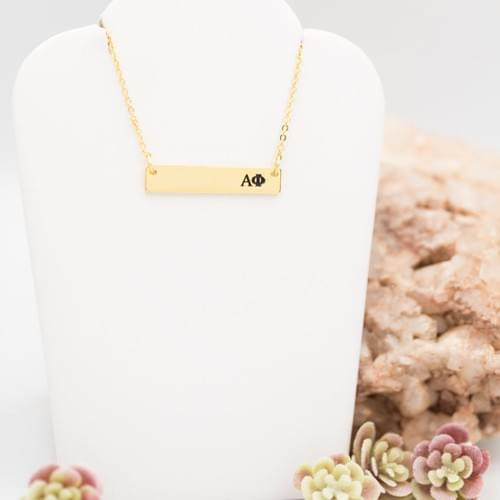 AF Bar Necklace