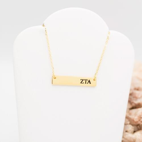 ZTA Bar Necklace