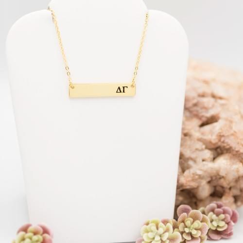DG Bar Necklace