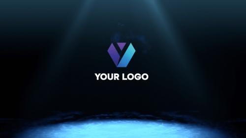 Animated Logo Stinger: Smoke Puff Impact