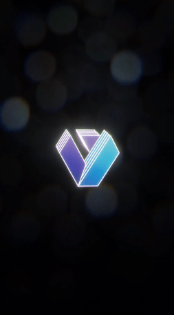 Animated Vertical Logo Stinger: Perspective