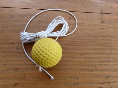 pelote et élastique pour Jokari