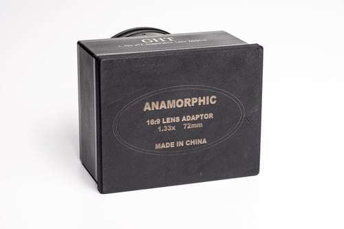 Anamorphic 1.33X Lens adapter
