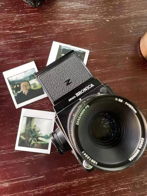 Bronica GS-1 instax back