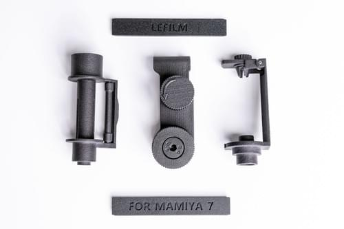 Mamiya 6mf/7/7ii 135 panoramic adapter 3D-Print kit AD701