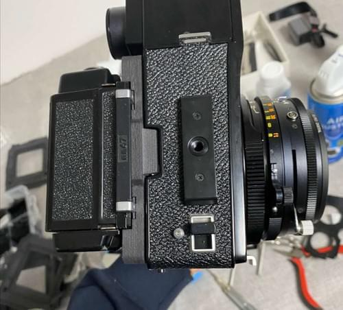 3D Print Mamiya G Adapter for Universal Press RB67 Film Back