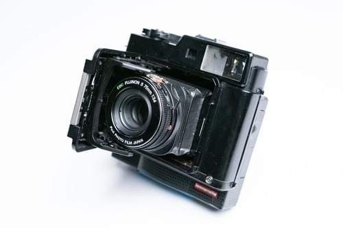 fujifilm gs645pro instax mini film camera