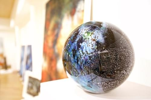 Space Globes Series Glass and nitrates