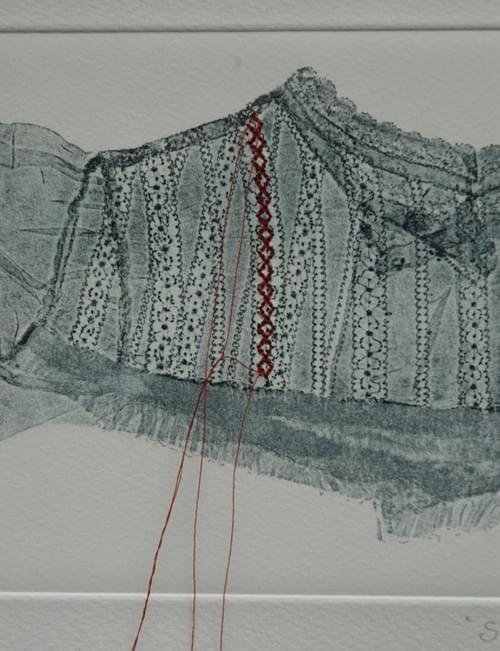 Blouse Red stitch