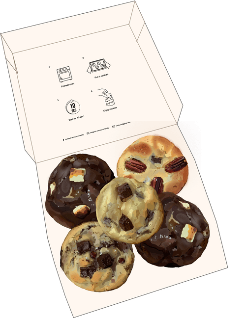 5 cookies
