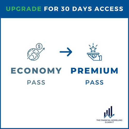 Economy to Premium Ticket Upgrade