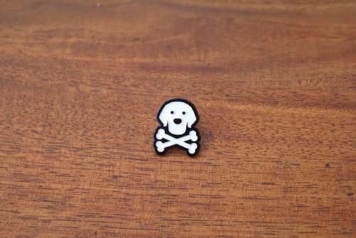 The Blackdog Lapel Pin with plenty of Arrrrrrrrrrrrr!!!!