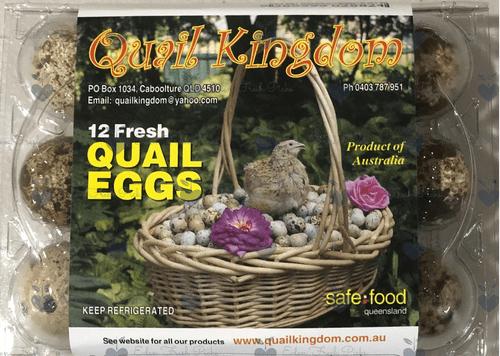 Farm Fresh Quail Eggs - 1 Dozen