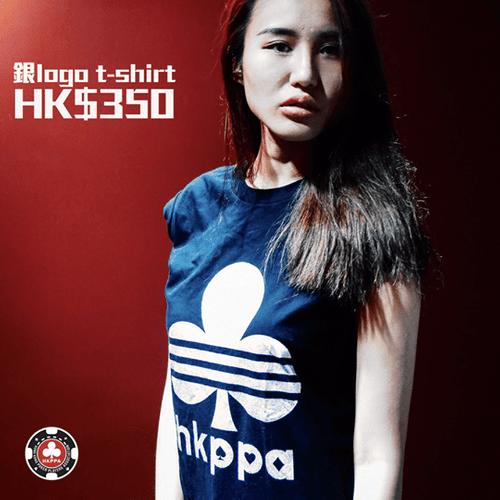 銀logo t-shirt