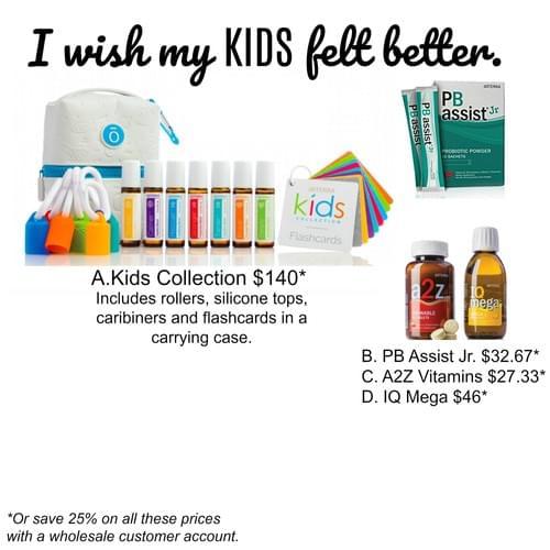 I wish my Kids felt better