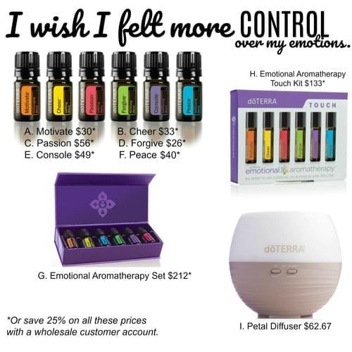 I wish I felt More Control over my Emotions