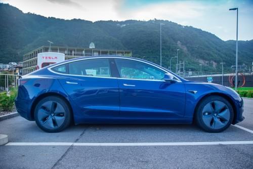 2020 Model 3 Long Range - Blue - disponible à partir du 23 février 2022