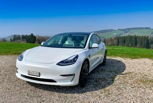 2020 Tesla Model 3 Performance - Snow - available from April 26th
