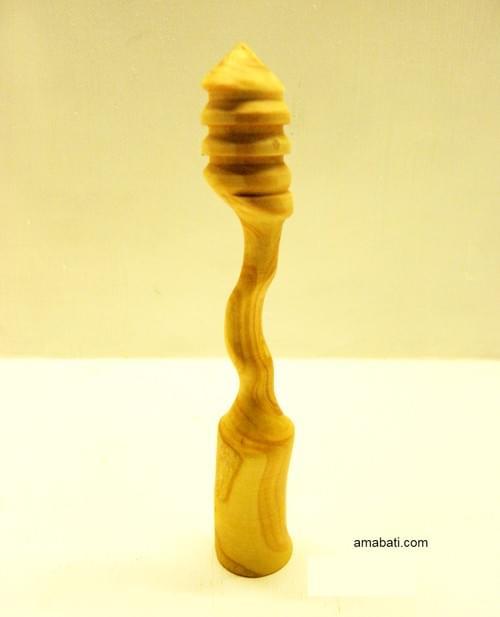Cuillère à miel en buis n°7