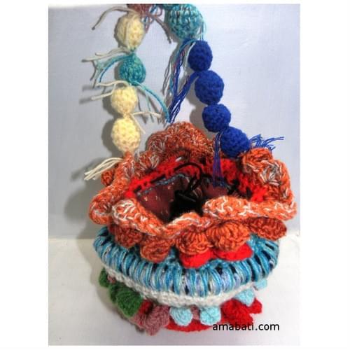 Yuanxiao, sac en laine fête des lanternes,inspiré du free form