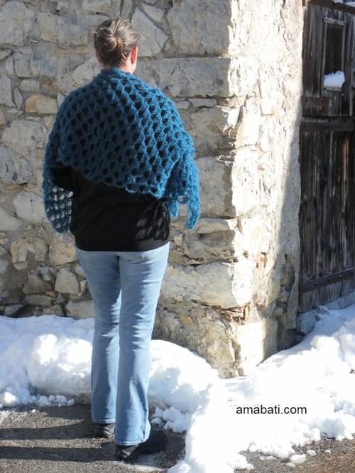 Etole en mohair - 150cm