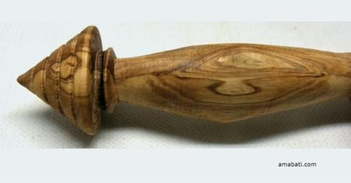 Cuillère à miel en bois d'olivier - n°1